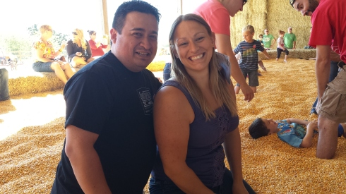 Meeting this guy, Marco. Also, discovering how purely joyous playing in a pool of corn is.