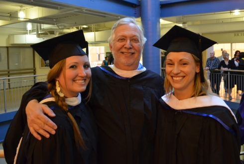 Graduation with two of my favorite people on the East coast.